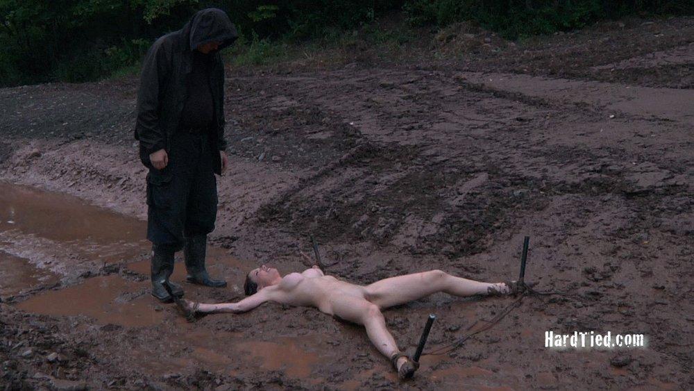 Mud bondage first time hatefuck my hippie 4