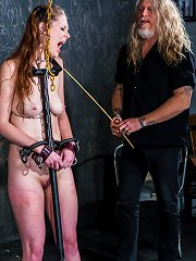 Sexy redhead gets her greedy cunt plowed with Sg..